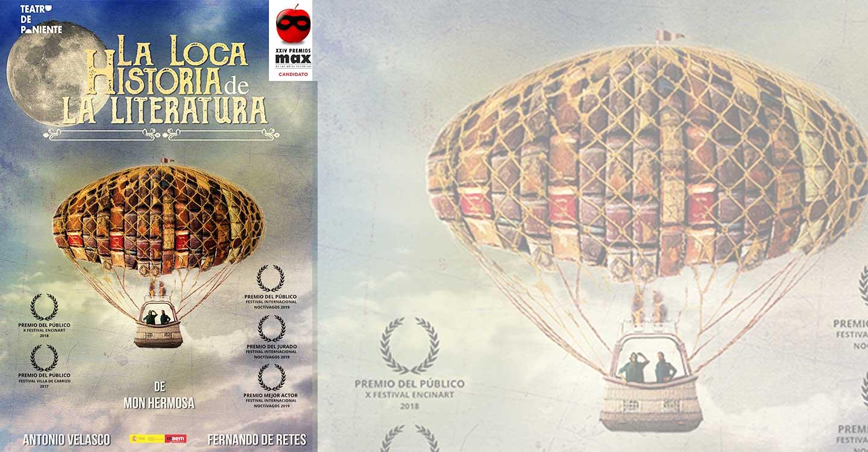 """La Biblioteca Pública celebra el Día de las bibliotecas con la representación de """"La loca historia de la literatura"""" el 26 de octubre en el auditorio de Cuenca"""