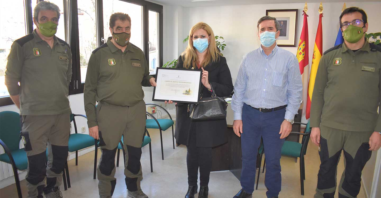 El Gobierno regional resalta el trabajo de los 122 agentes medioambientales de la provincia de Cuenca en su 20º aniversario