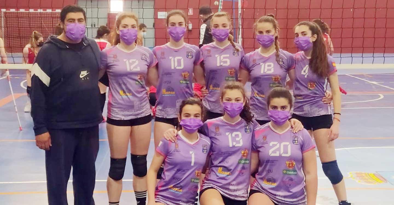 El Club Voleibol Iniesta se proclamó Campeón Provincial en Categoría Cadete Femenino