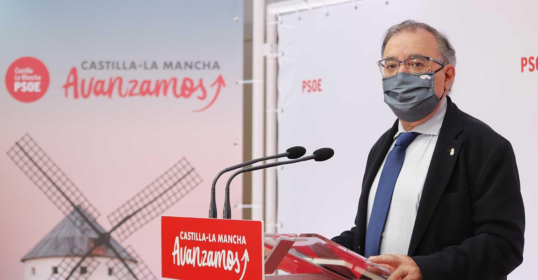 """Mora enfrenta los recortes del """"binomio Cospedal-Núñez"""" en CLM a la """"solución Page"""" que impulsa la recuperación sanitaria y económica"""