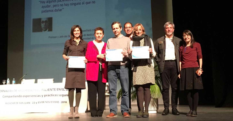 El servicio de Informática del Hospital Universitario de Guadalajara, premiado en las V Jornadas de Seguridad del Paciente en el SESCAM