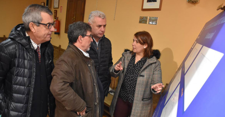 El Gobierno regional presenta el proyecto para el nuevo depósito que mejorará el abastecimiento de Mondéjar con una inversión superior a los 525.000 euros