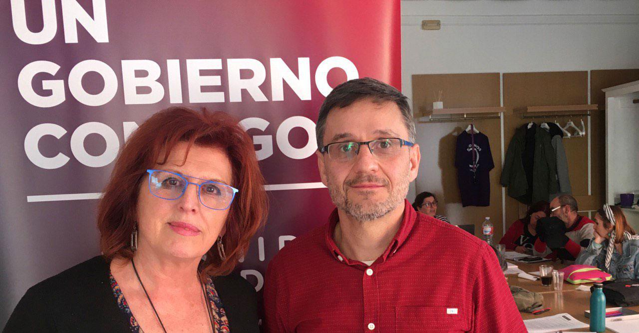 Mª Ángeles García Jimenéz fortalece la portavocia de Podemos CLM