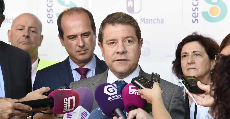 """García-Page celebra la paralización del ATC de Villar de Cañas, un proyecto que encerraba """"mucha más basura que la nuclear"""""""