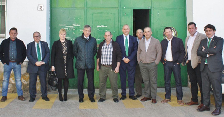 Eurocaja Rural traslada su respaldo a la Sociedad Cooperativa Vinícola Santa María Magdalena de Mondéjar (Guadalajara)