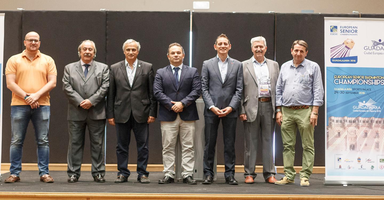 Guadalajara, sede de los Campeonatos de Europa Sénior de Bádminton