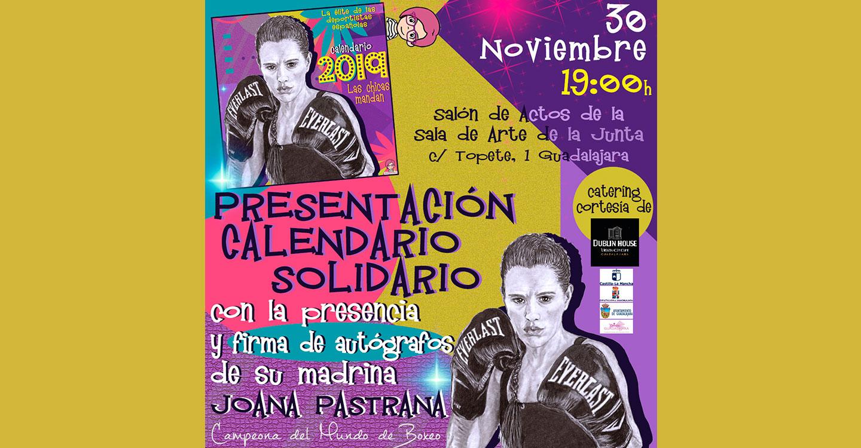 Presentación Calendario Solidario 2019