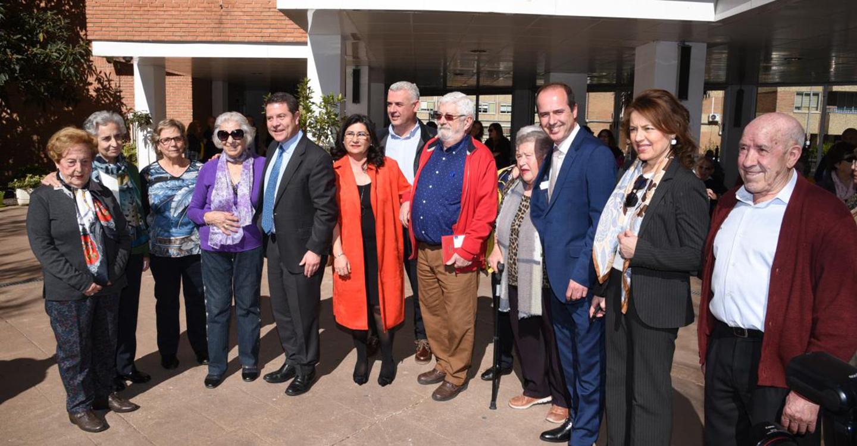 """El presidente García-Page adelanta que la nueva residencia de mayores de Guadalajara será de """"las más modernas"""" del Plan 'Horizonte 2020'"""
