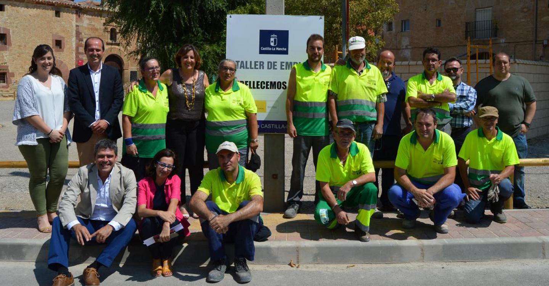 El Gobierno de Castilla-La Mancha destinó más de 11,3 millones de euros a talleres de empleo en 2017, en los que han participado 1.177 trabajadores