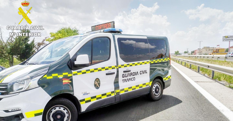La Guardia Civil investiga al conductor de un camión que septuplico la tasa de alcoholemia permitida