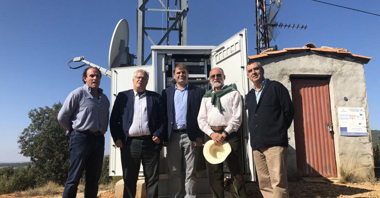 El Gobierno regional invierte siete millones de euros en despliegue de 4G en la provincia de Guadalajara y anuncia otros tres millones antes de fin de legislatura