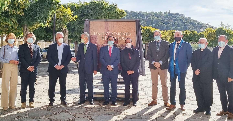 """Bellido invita a """"sentir y descubrir Castilla-La Mancha""""  en Pastrana, con la exposición 'Un patrimonio de todos'"""