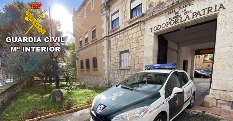 La Guardia Civil de Guadalajara detiene a una persona en Brihuega por tentativa de homicidio