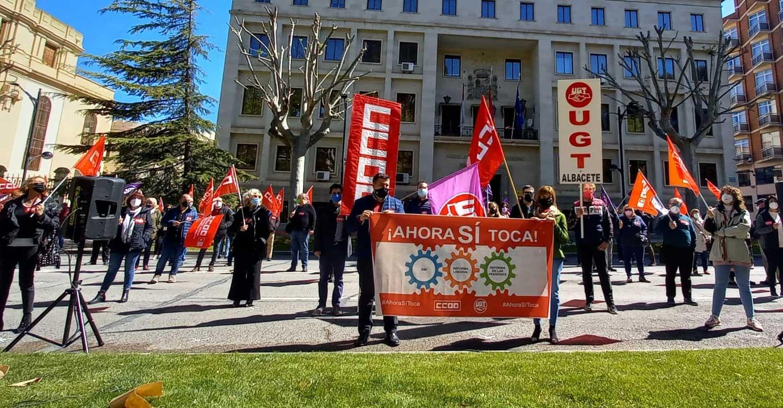 CCOO CLM exige de nuevo en las calles que #AhoraSíToca subir el SMI y derogar las reformas laborales y de pensiones