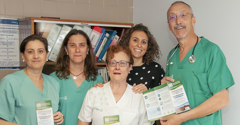 El servicio de Anestesiología del Hospital de Guadalajara aborda un proyecto para mejorar la comunicación con el paciente y el resultado de su cirugía