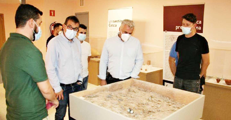 La cuarta campaña de excavaciones en Caraca se realizará con la aportación de 15.000 € de la Diputación de Guadalajara