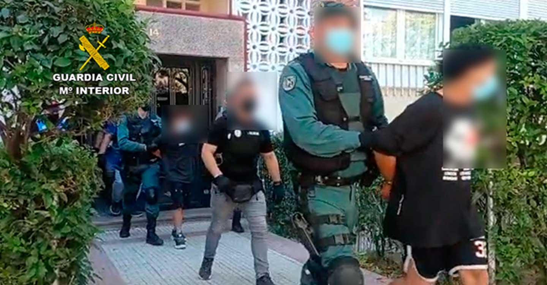 Desarticulado el Coro de la banda criminal de origen latino Dominican Don't Play (DDP) que operaba en el Corredor del Henares