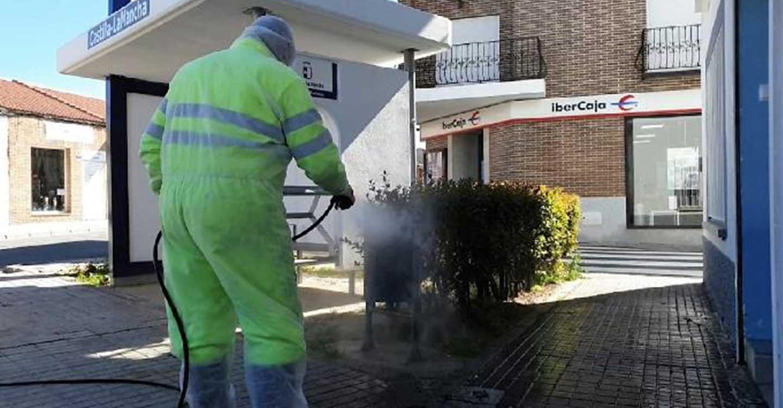 La Diputación de Guadalajara ha realizado 2.320 desinfecciones en toda la provincia