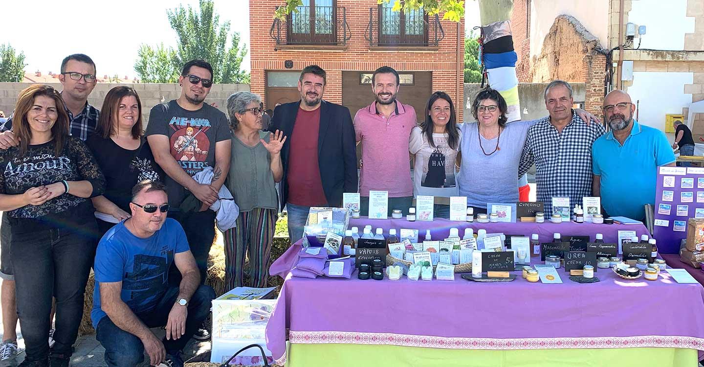 El Gobierno de Castilla-La Mancha, presente en la Feria Ecológica de Torrejón del Rey (Guadalajara)