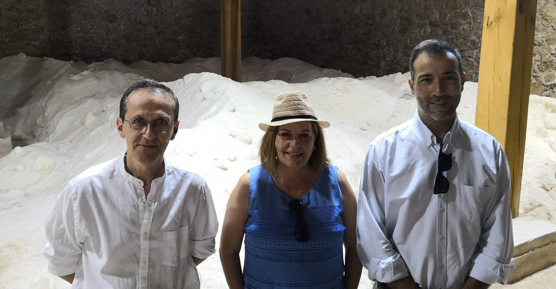 El Gobierno de Castilla-La Mancha respalda la recuperación del patrimonio de las salinas en la provincia de Guadalajara