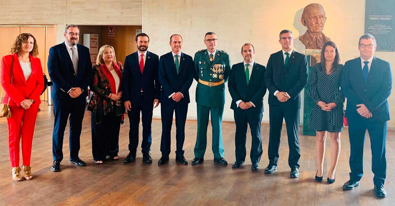 El Gobierno regional asiste a los actos institucionales con motivo del Día de la Hispanidad en Guadalajara