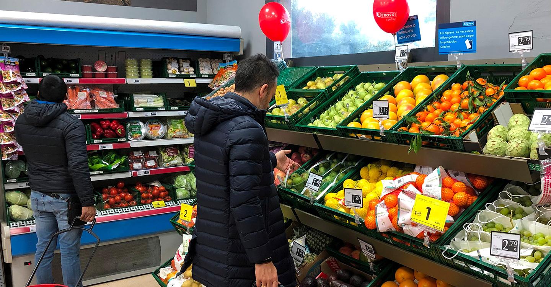 Eroski inaugura un nuevo supermercado franquiciado en la localidad de Horche, en Guadalajara