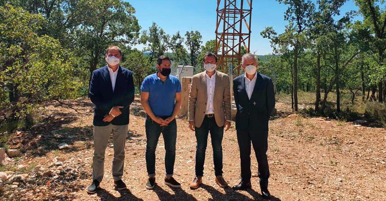 El Gobierno de Castilla-La Mancha impulsará el despliegue de fibra óptica en 200 nuevas pedanías y pueblos de la provincia de Guadalajara a lo largo de los próximos dos años