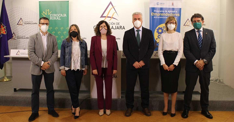 Eurocaja Rural colabora, por cuarta edición consecutiva, en el 'Programa de Apoyo a Emprendedores' de CEOE-CEPYME Guadalajara