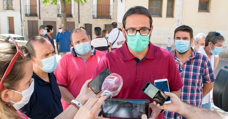 Sergio Gutiérrez reitera el compromiso del PSOE regional para pedir a la UE que los fondos contra la despoblación lleguen a Guadalajara