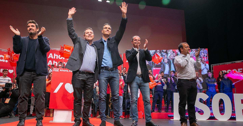 """García-Page: """"Este país ha avanzado siempre sobre la base de la Izquierda, nadie le puede quitar al PSOE lo que ha hecho"""""""