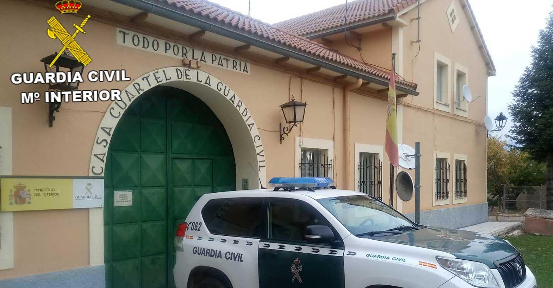 La Guardia Civil de Guadalajara investiga a tres personas como presuntos autores de robos y daños en  viviendas de Villanueva de Alcorón cometidos durante el Estado de Alarma