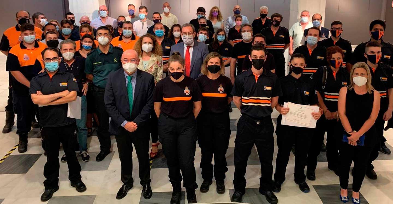 El Gobierno de Castilla-La Mancha destaca las más de 5.200 intervenciones realizadas en 2020 por integrantes de Protección Civil tras su activación por el 1-1-2