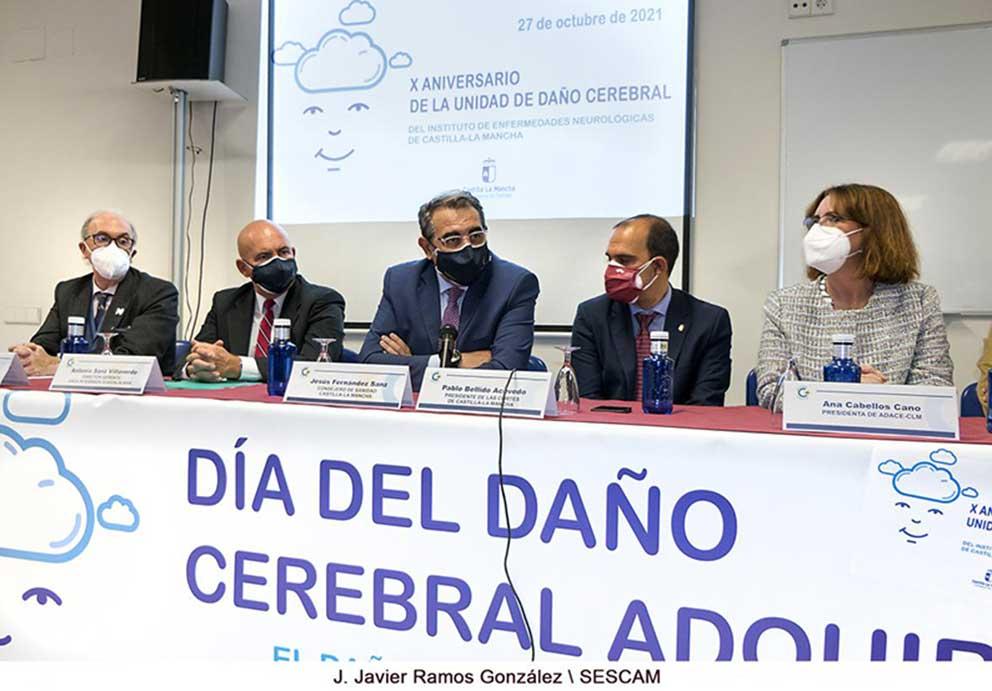 El Gobierno de Castilla-La Mancha destaca el trabajo del Instituto de Enfermedades Neurológicas para que las personas con daño cerebral logren su máxima autonomía