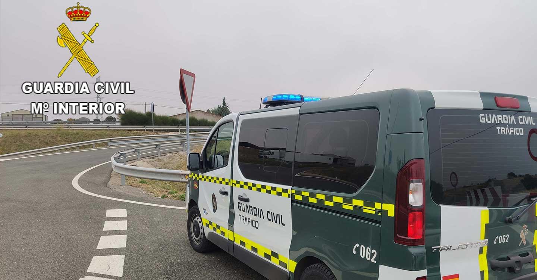 La Guardia Civil de Guadalajara investiga al conductor de un turismo que cuadriplicó la tasa de alcoholemia