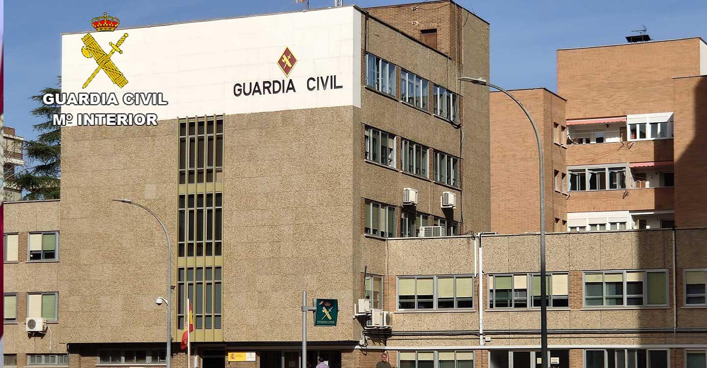 La Guardia Civil detiene a la  presunta autora de un delito de robo con violencia cometido en Azuqueca de Henares