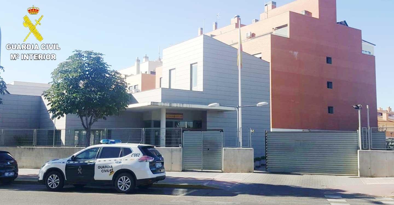 La Guardia Civil de Guadalajara detiene a dos  personas por robo en Alovera