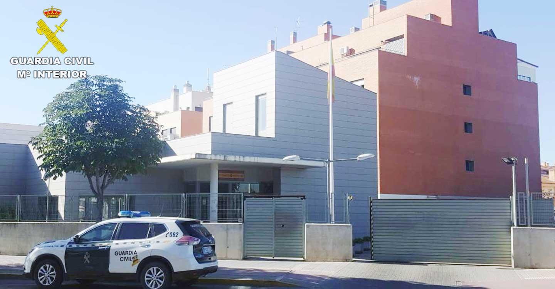 La Guardia Civil de Guadalajara detiene a tres personas por robo en grado de tentativa en Quer