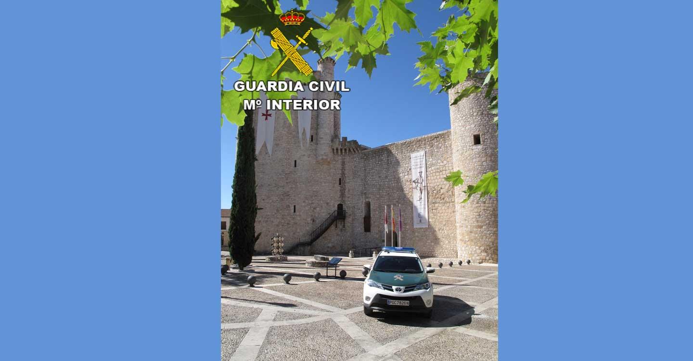 La Guardia Civil de Guadalajara investiga en Torija a una persona como presunta autora de 4 delitos de hurto