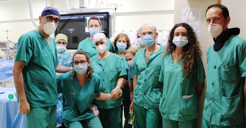 El Hospital de Guadalajara amplía su cartera de servicios en Hemodinámica al incorporar técnicas que sustituyen la cirugía abierta para el implante de válvulas