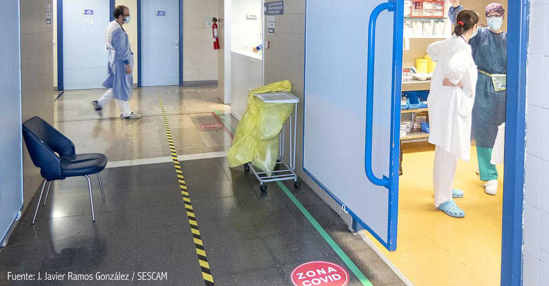 El Hospital Universitario de Guadalajara acomete obras para facilitar una rápida respuesta ante un eventual rebrote de Covid-19