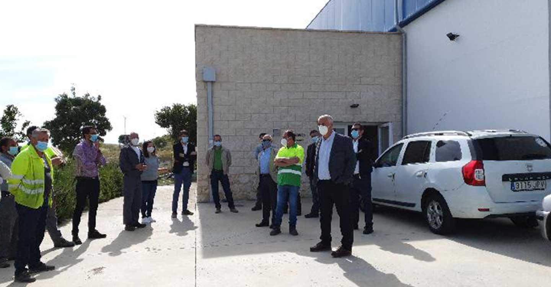 José Luis Vega felicita a las Brigadas de Carreteras y Centros Comarcales por su papel en la crisis de la COVID-19