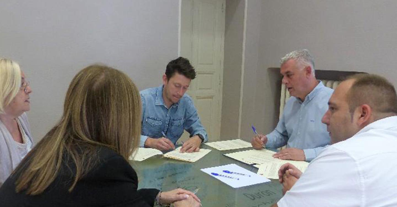 La Diputación aporta asesoramiento técnico y financiación a los estudios arqueológicos en el yacimiento romano de Caraca