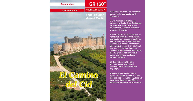 La Diputación de Guadalajara reedita la Guía senderista del Camino del Cid a su paso por Guadalajara