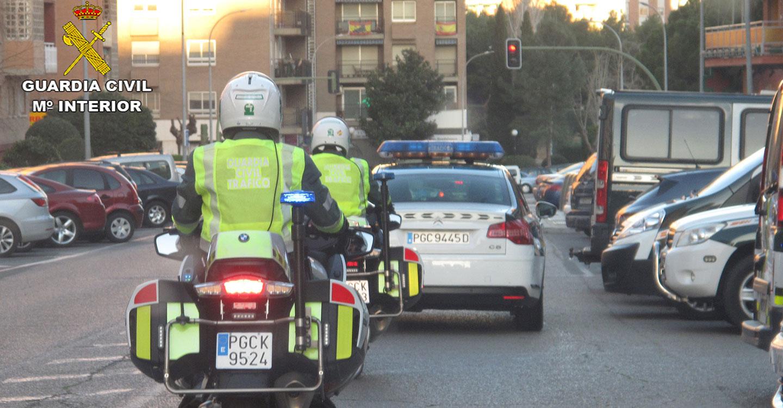 La Guardia Civil detectó 38 alcoholemias positivas en carreteras de la provincia el pasado fin de semana