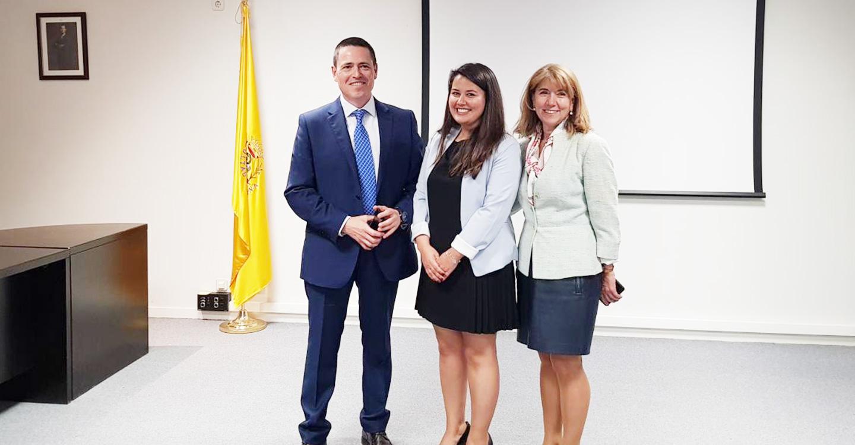 Los buenos resultados de la cirugía de cáncer de mama en régimen ambulatorio, objeto de la tesis doctoral de una residente del Hospital de Guadalajara