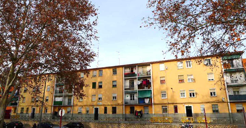 Podemos CLM se posiciona en contra de los desahucios en el Barrio del Alamín (Guadalajara)