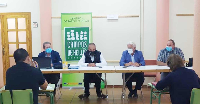 RECAMDER analiza con los Grupos de Acción Local de la provincia de Albacete los próximos objetivos del mundo rural