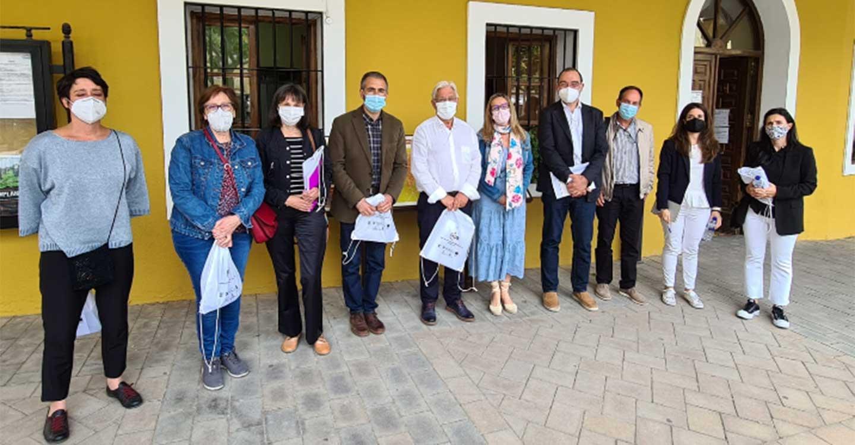 La Ley contra la Despoblación y el potencial del medio rural centran la reunión de RECAMDER con los Grupos de Acción Local de Guadalajara
