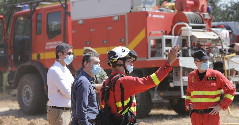 Tierraseca destaca el amplio dispositivo de apoyo frente a los incendios forestales que el Gobierno de España pone a disposición de Castilla-La Mancha