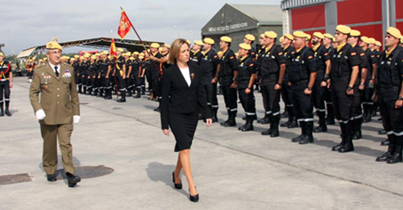 El Ministerio de Defensa despliega una sección de la UME en Guadalajara capital para apoyar a la Policía Nacional en la labor de garantizar la seguridad
